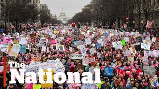 Download Hundreds of thousands turn out for Women's March on Washington Video