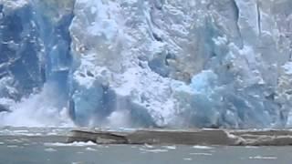 Download SAWYER GLACIER CALVING TURNS DANGEROUS [HD] Video