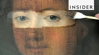 Download How Art Conservators Clean Paintings Video