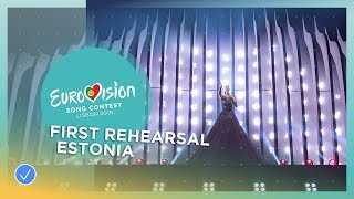 Download Elina Nechayeva - La Forza - First Rehearsal - Estonia - Eurovision 2018 Video