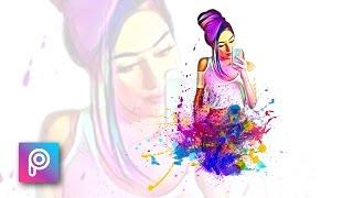 Download Cara Edit Foto Pelangi & Splash Color dengan Picsart - PicsArt tutorial Indonesia Video