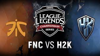 Download FNC vs. H2K - Week 6 Day 2 | EU LCS Summer Split | Fnatic vs. H2k-Gaming (2018) Video