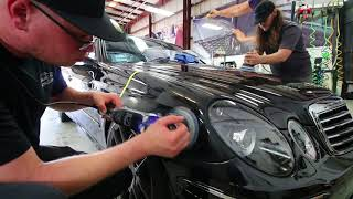 Download Here's What A $3,000, 36-Hour Paint Correction & Ceramic Coating Looks Like On A 15-Year-Old E55 AMG Video