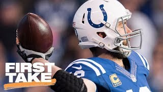 Download Stephen A. Has Shouting Match With Jeff Saturday Over NFL's Luck | First Take | May 23, 2017 Video