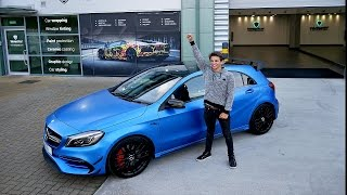 Download WRAPPING MY MERCEDES A45 AMG!!! Video