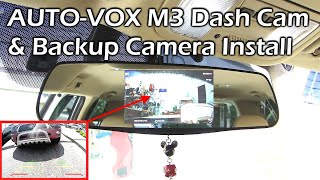 Download AUTO-VOX M3 Dash Cam & Backup Camera System – INSTALL Video