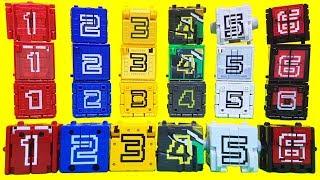 Download 파워레인저 애니멀포스 장난감 DX애니멀킹 DX와일드킹 모음 미니프라 미니큐브 보석함상자 Power ranger Doubutsu Sentai Zyuohger Toy Video