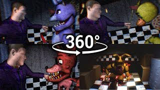 Download 360°| FNAF3 Mini Game Compilation - Animatronic Prospect View [SFM] (VR Compatible) Video