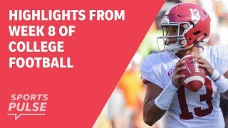 Download Top highlights from Week 8 of college football Video
