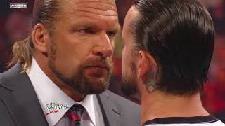 Download Raw: Tensions mount between CM Punk and Triple H Video