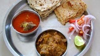 Download Kolhapuri Tambda Rassa / Mutton Rassa & Sukhe Mutton (Maharashtrian goat meat curry) Video