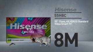 Download Hisense 55H8C H8 series 4K smart TV // Full Specs Review #Hisense Video