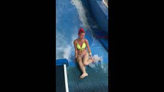 Download Bikini Girl Flowrider Wave Fail Video