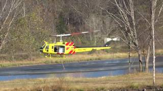 Download North Carolina Forest Service Helicopter working the Old Greenlee Road Fire 11/9/16 Video