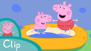 Download Peppa Pig Episodes - Paddling pool (clip) - Cartoons for Children Video