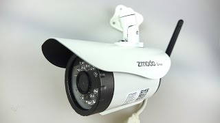 Download Simple Cheap Effective Outdoor WiFi Night-vision IP camera Video