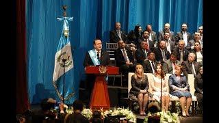 Download Tras juramentar, el Presidente Alejandro Giammattei se dirige a la Nación Video