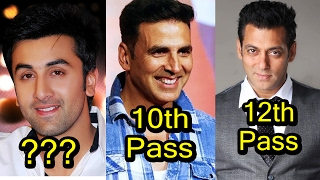 Download 6 Very Less Educated Bollywood Actors Video
