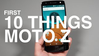 Download Moto Z: First 10 Things to Do! Video