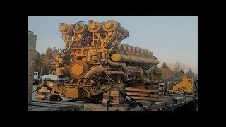 Download Big Engine Starting Up and Sound Video
