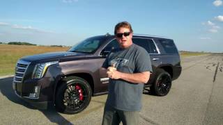 Download 800 HP Cadillac Escalade Test Drive with John Hennessey Video