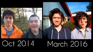 Download 2 Brothers 1 Time Lapse (17 months of hair growth) Video
