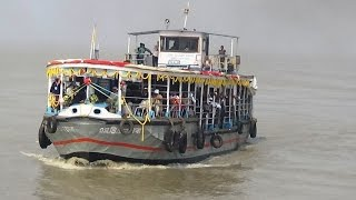 Download Most Comfortable Gangasagar Trip by Launch - Howrah to Sagar Island - West Bengal Pilgrim Tourism Video