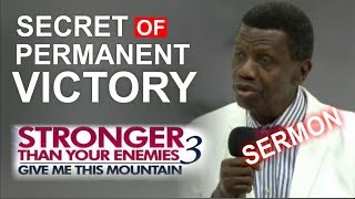 Download Pastor E.A Adeboye Sermon @ RCCG March 2018 THANKSGIVING SERVICE Video