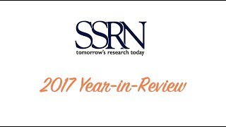 Download SSRN Year End Review 2017 Video