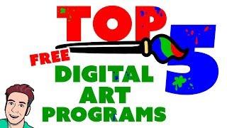 Download Best FREE Art Programs (Full Review) 🎨 Video
