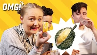 Download British try durian and durian flavor snacks 英国人榴莲初体验 Video
