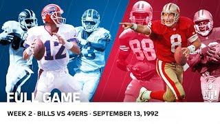 Download Jim Kelly vs. Steve Young Shootout | Bills vs. 49ers Week 2, 1992 | NFL Full Game Video