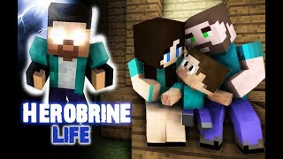 Download Monster School : Herobrine's Life (Sad but very touching story) - Best Minecraft Animation Video