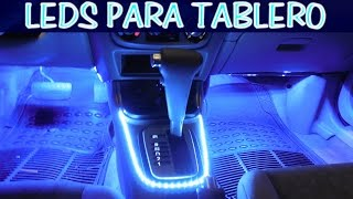 Download Como instalar tiras led para tablero delgadas (sincronizadas con las luces del tablero) Video