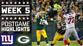 Download Giants vs. Packers | NFL Week 5 Game Highlights Video