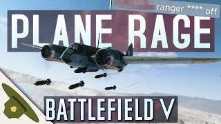 Download Battlefield 5: Just PLANE RAGE from salty players in the chat! Video