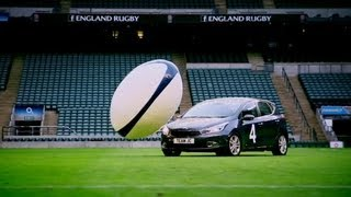 Download Car Rugby at Twickenham (First Half) | Top Gear | Series 19 | BBC Video