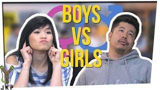 Download Who LISTENS Better?! | BOYS VS GIRLS??? ft. Gina Darling Video