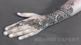 Download New Simple Indo - Arabic mehndi design for hands ★ Step By Step Tutorial Video