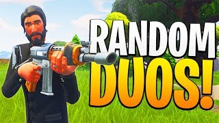 Download Most Loyal RANDOM DUOS Partner of ALL TIME! - PS4 Fortnite RANDOM DUOS Game! Video