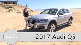 Download 2017 Audi Q5 2.0 TDI quattro ultra TEST / Onroad und Offroad Review (ENGLISH Subtitles) - Autophorie Video