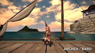Download [Patch 3.2] FFXIV Lalafell Battle Stance and Victory Pose (All Jobs) Video