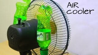 Download How to make air conditioner at home using Plastic Bottle - Easy life hacks Video