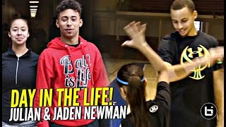 Download Julian & Jaden Newman: A Day In The Life!! Julian Addresses ″Overrated″ Chants & More!! Video