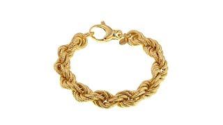 Download Bellezza Bronze Bronze Bold RopeLink 73/4″ Bracelet Video