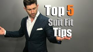 Download TOP 5 Suit Fit Tips | How To Buy A PERFECT Fitting Suit Online Video