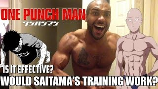 Download Would One Punch Man Saitama's Fitness Training Actually Work? Video