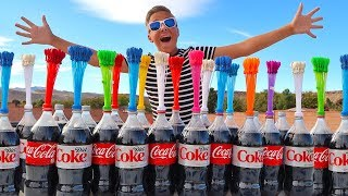 Download COKE AND MENTOS VS Silly WATER BALLOONS Project! Video