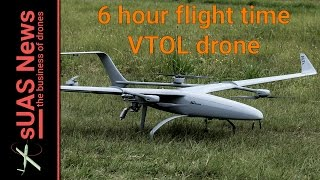 Download ALTi Transition VTOL fixed-wing drone flies for 6 hours Video
