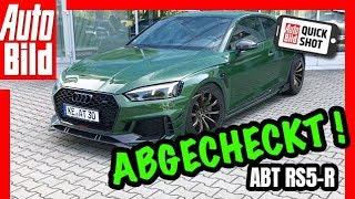 Download Abt RS5-R: Testfahrt im 530 PS starken Audi - Details/Test/Review Video